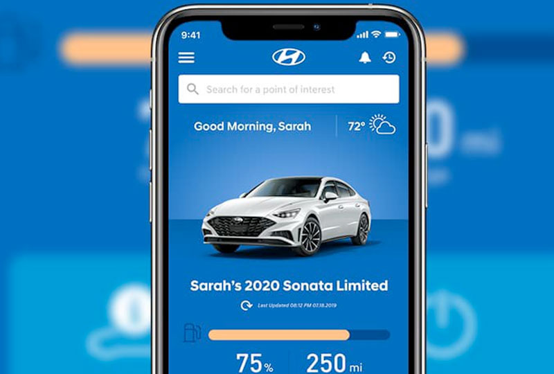 Hyundai Blue Link On-Demand Diagnostics and Alerts