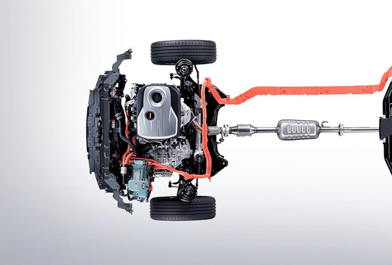 Kia Alternative Fuel Full Parallel Hybrid System