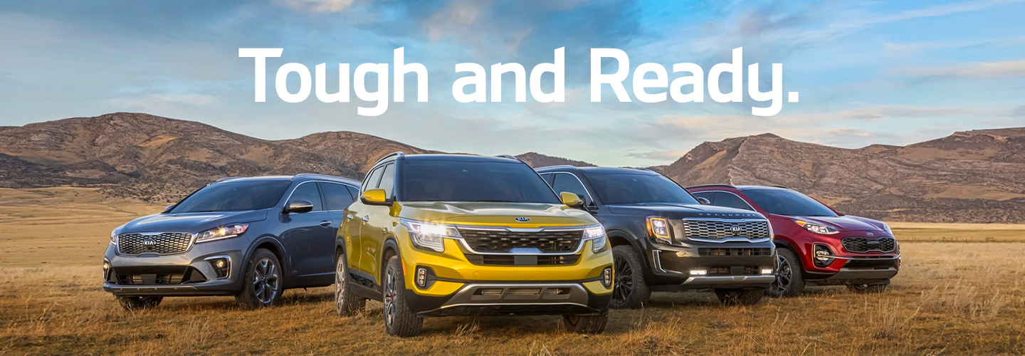 Kia SUV Family Header