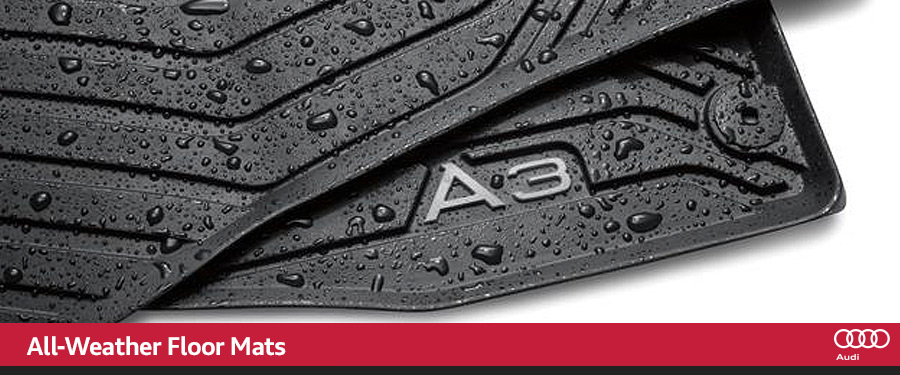 Audi all-weather floor mats San Diego CA