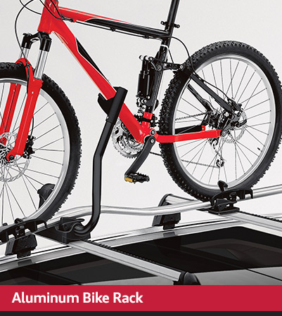 aluminum bike rack