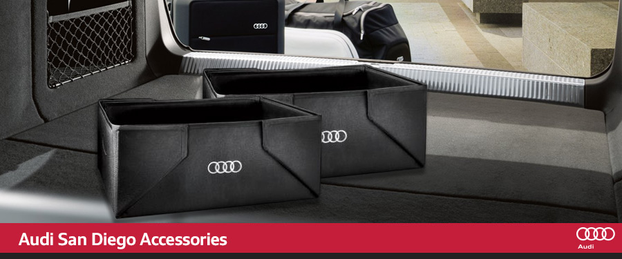 Genuine Audi accessories San Diego CA