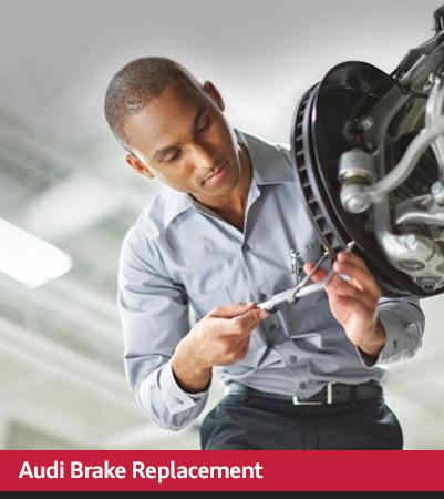 Audi Service brakes