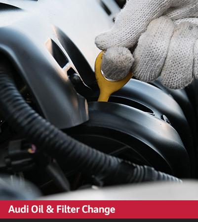 Audi Service oil