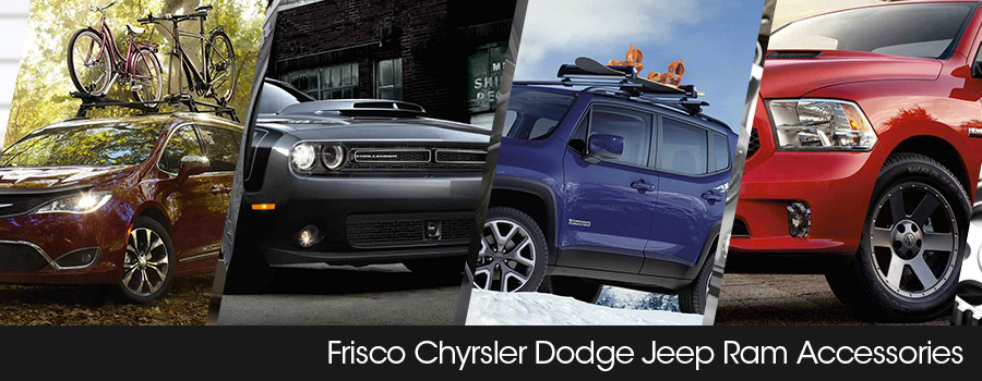 Chrysler Dodge Jeep Ram Fiat accessories Frisco TX