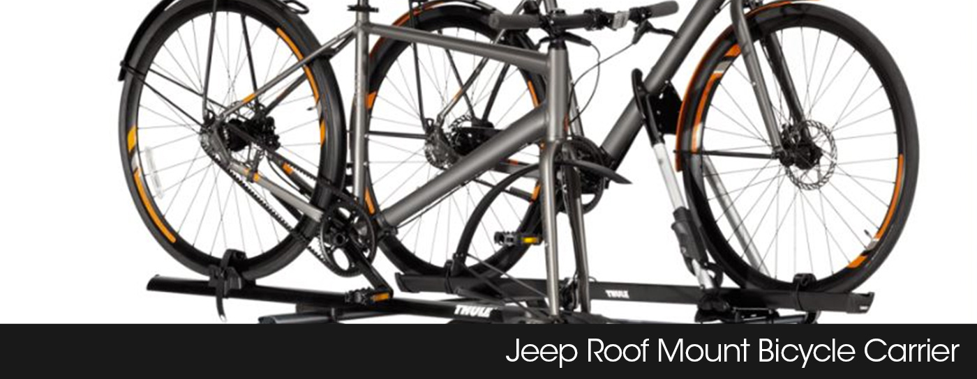 Jeep roof mount bicycle carrier Frisco TX