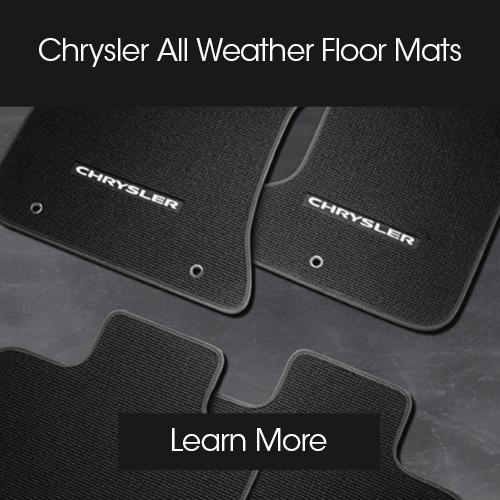 CDJR accessories modules floor mats