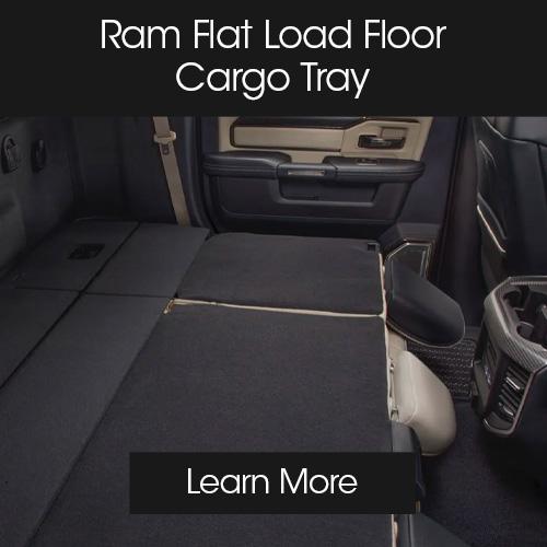CDJR accessories modules floor cargo tray