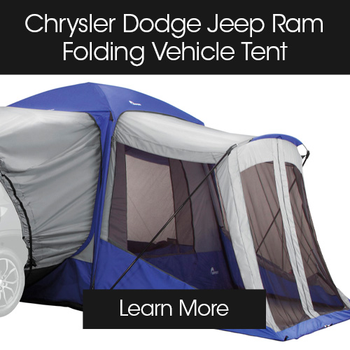 CDJR accessories modules tent