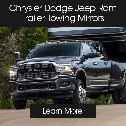 CDJR accessories modules towing mirrors