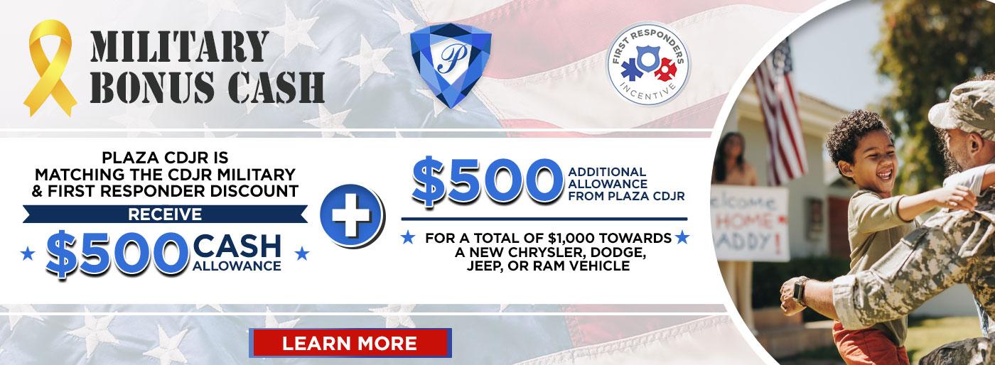 cdjr finance military offer