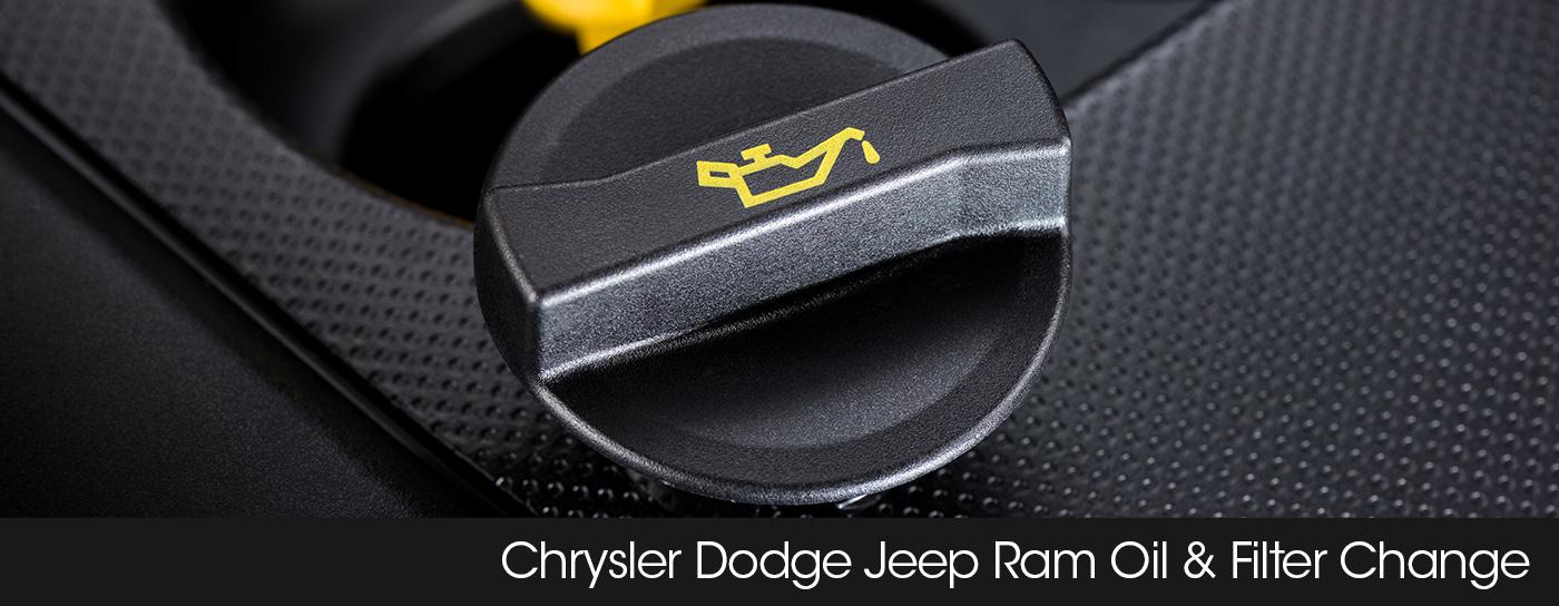 Chrysler Dodge Jeep Ram Service Module header oil