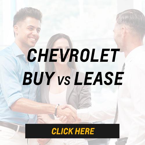 Chevrolet Buy vs Lease