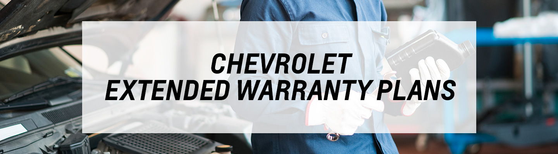 Chevrolet Extended Warranty Plans