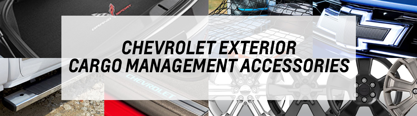 Chevrolet Exterior Cargo Management Accessories