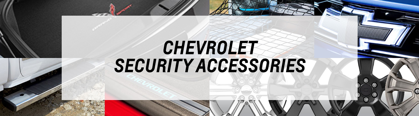 Chevrolet Security Accessories