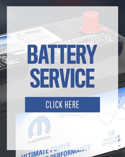 Fiat Service batteries