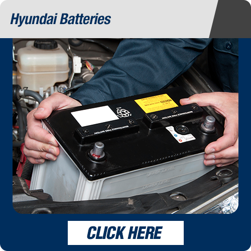 Hyundai service department batteries