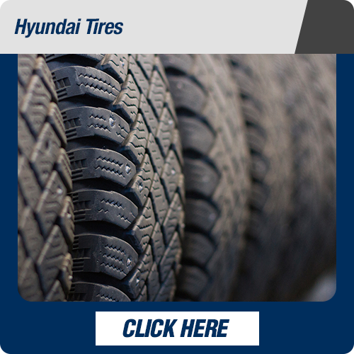 Hyundai service department tires