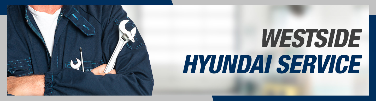 Hyundai service department header