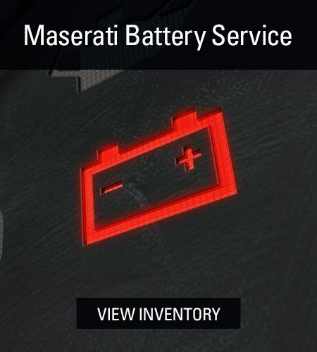 maserati  Service batteries