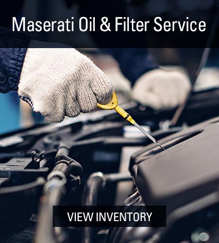maserati  Service oil