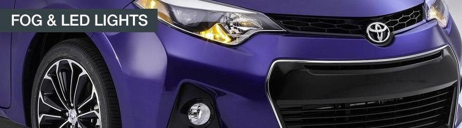 Toyota fog lights LED lighting