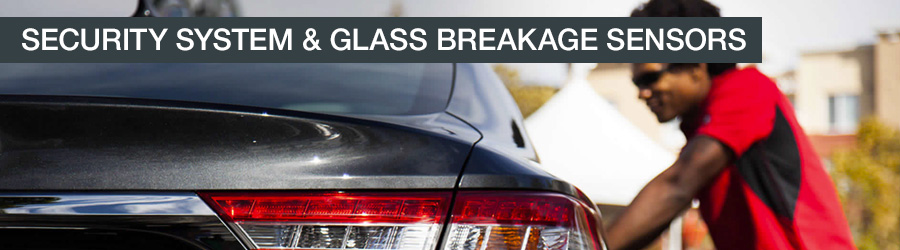 toyota glass breakage sensor installation