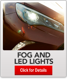 accessories modules  Toyota ledFogLights