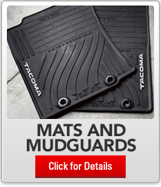 accessories modules  Toyota mats