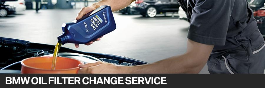 BMW Oil  Filter Change Service in Pembroke Pines FL Serving