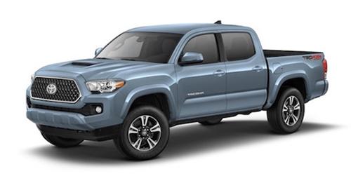 Blue Toyota Truck