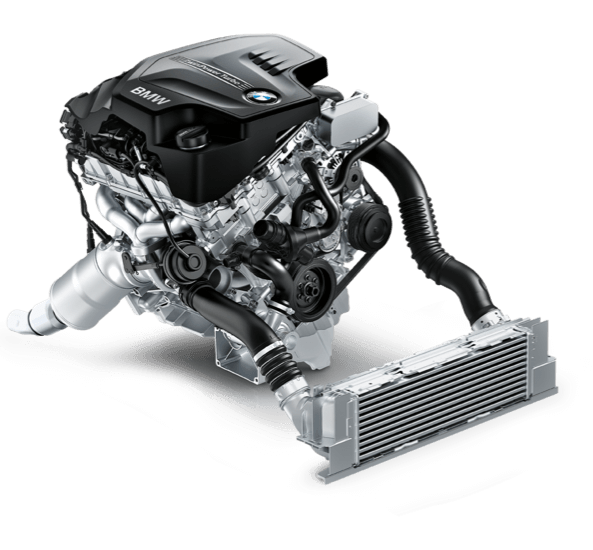 180-hp inline 4-cylinder TwinPower Turbo engine