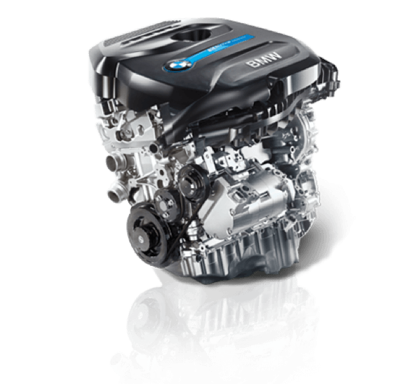 BMW's award-winning 2.0 liter 4-cylinder