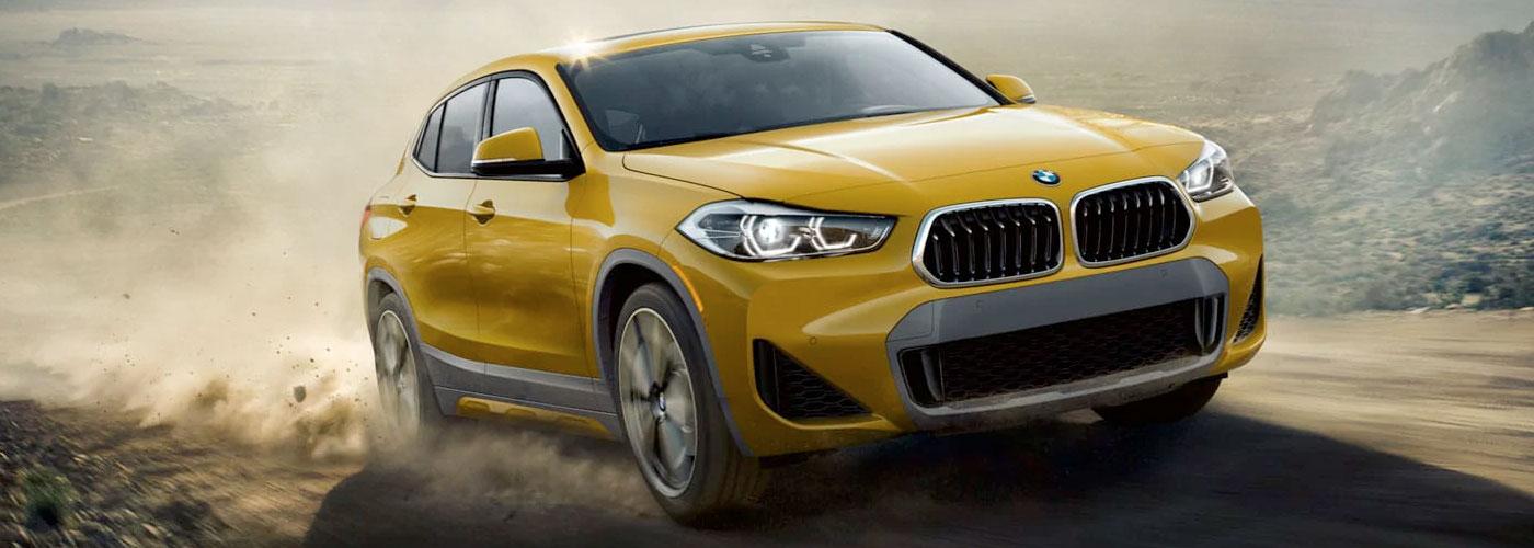2021 BMW X2 header