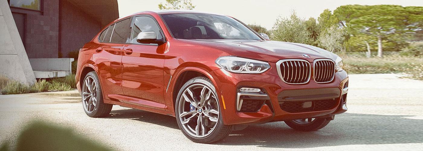 2021 BMW X4 header