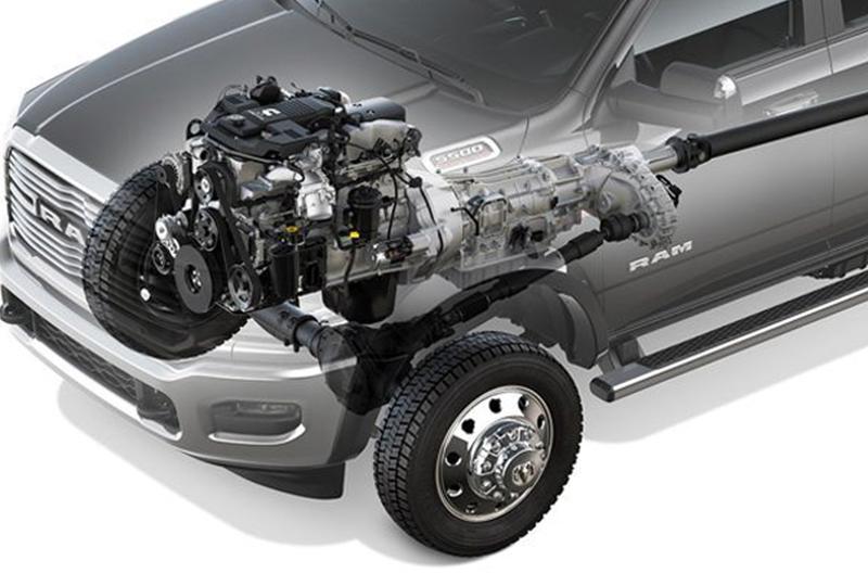 2019 RAM 3500 Chassis Cab INTERIOR