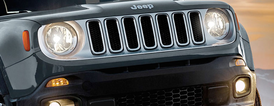 2017 Jeep Renegade Automatic High-Beam Control Headlamps