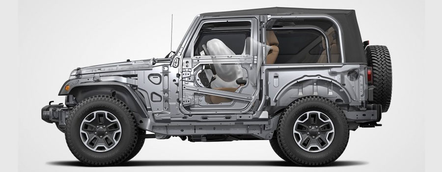 2017 Wrangler PASSIVE SAFETY AND SECURITY