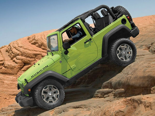 2017 Wrangler TRAIL RATED® TOUGH