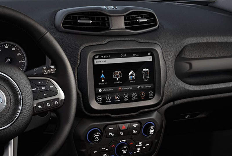 2019 Jeep Renegade Interior