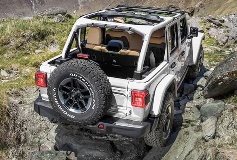 2021 Jeep Wrangler 4xe  Capability