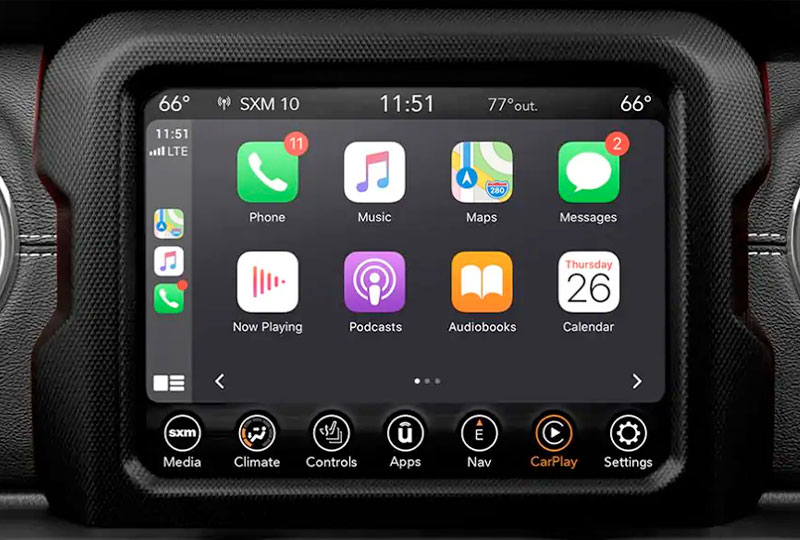 2021 Jeep Wrangler 4xe  Technology