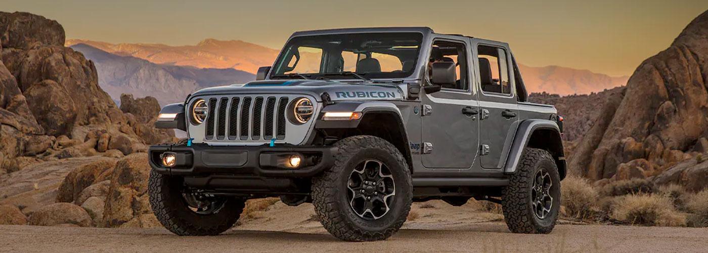 2021 Jeep Wrangler 4xe  header