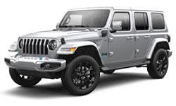 2021 Jeep Wrangler 4xe  trims
