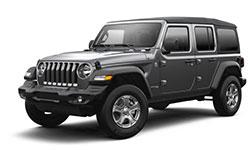 2021 Jeep Wrangler trims