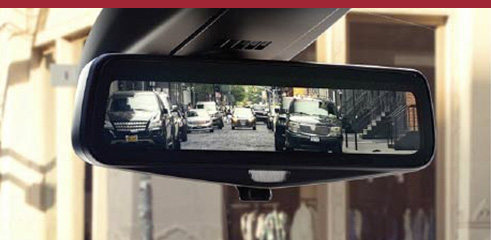 2016 Cadillac REAR CAMERA MIRROR