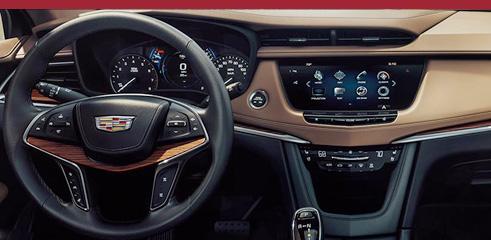 2016 Cadillac XT5 Crossover ADJUSTABLE REAR SLIDING SEAT