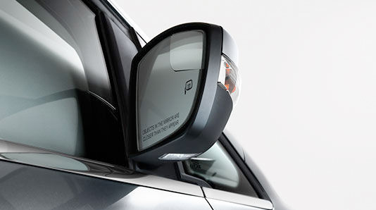 Integrated Blind Spot Mirrors