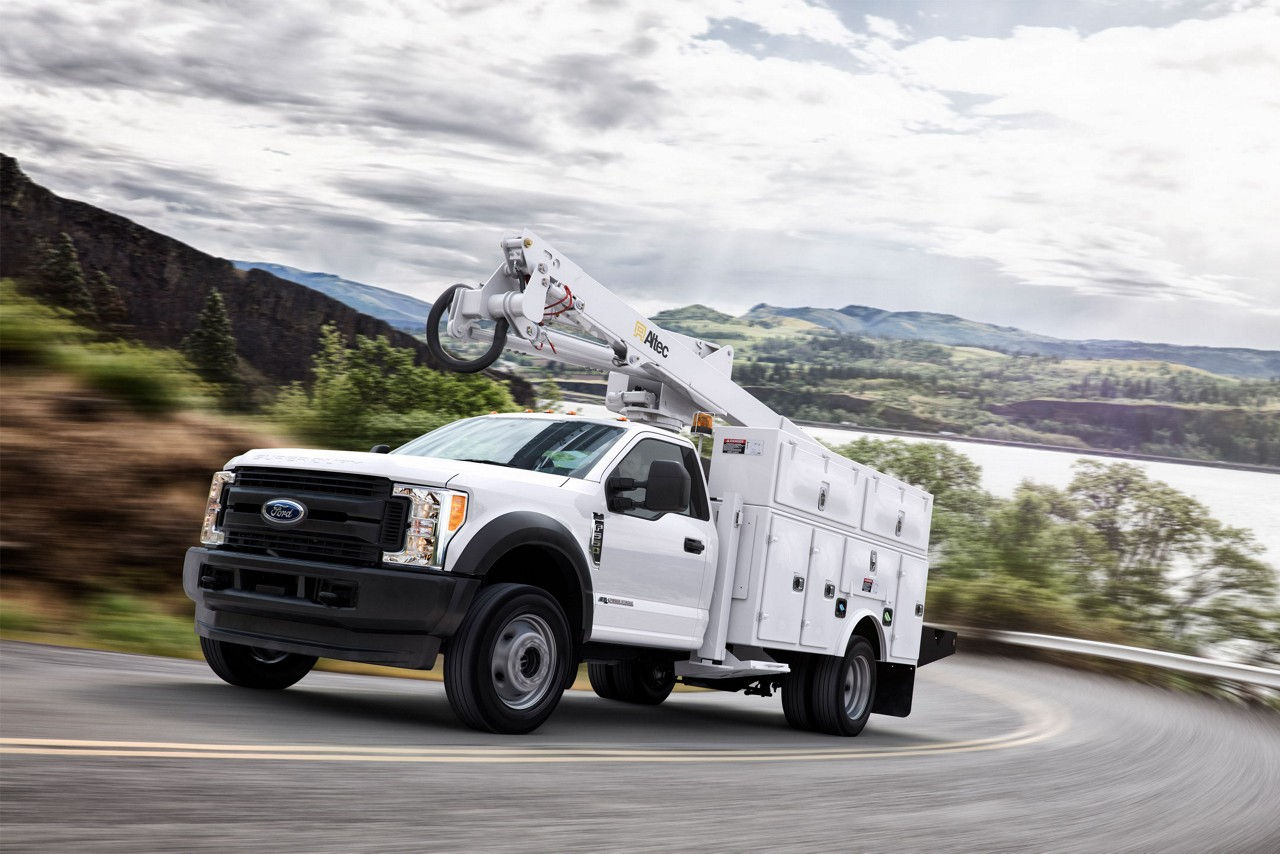 2017 Chassis Cab BEST-IN-CLASS FRONT GAWR